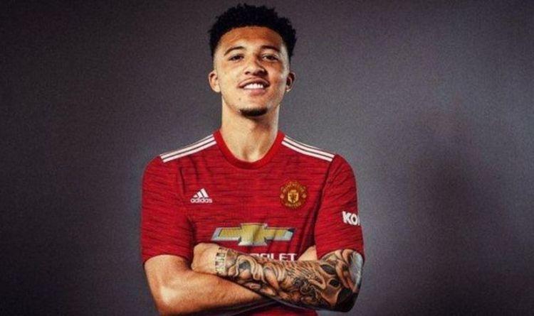 Man United Confirms Jadon Sancho Signing (Video)