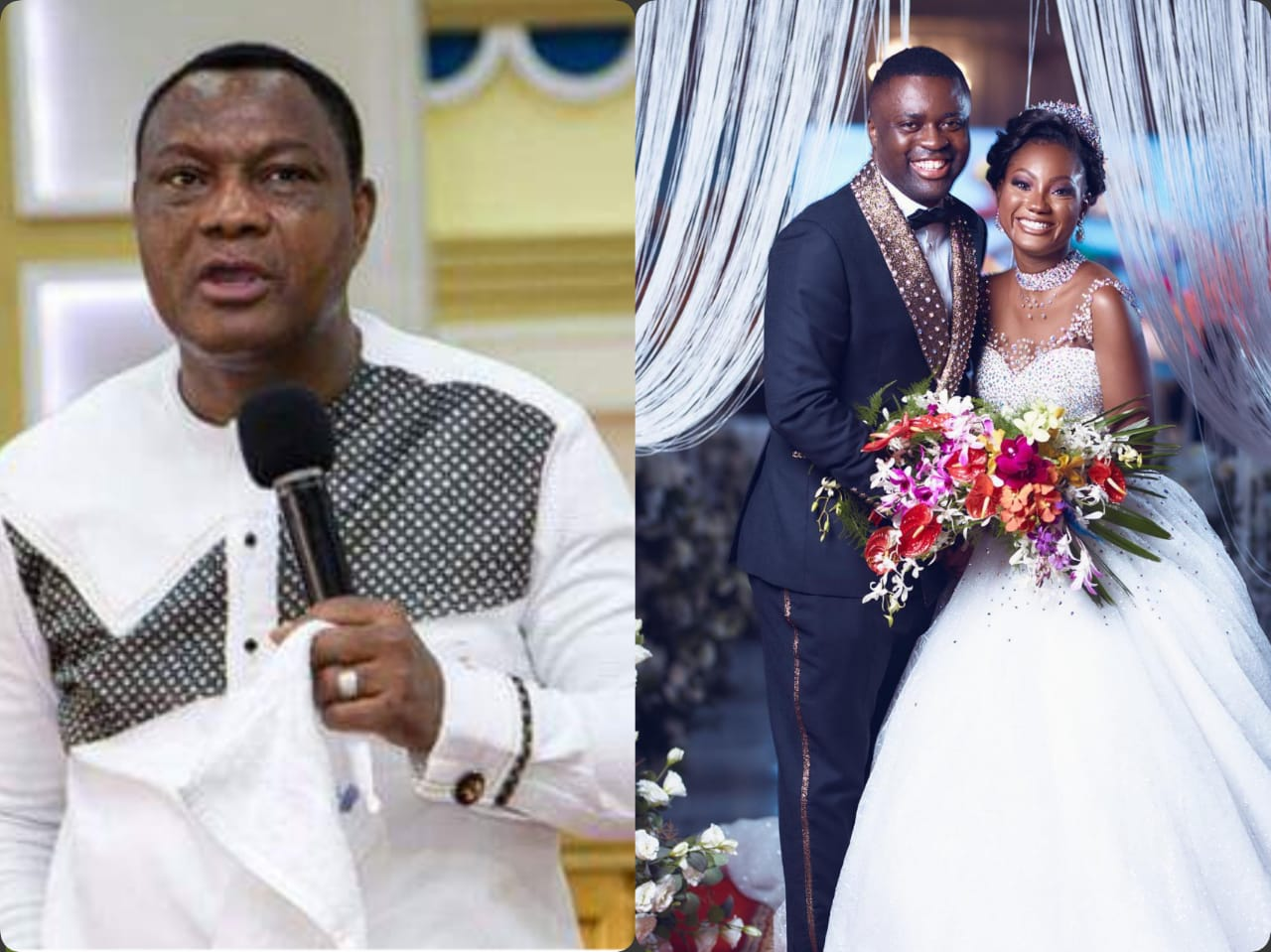'The $1million Cheque 'Wedding Gift' To My Daughter Was An Act Of Faith' - Apostle Sam Korankye Ankrah Explains After GRA Chased His Daughter For Their Share (Video)