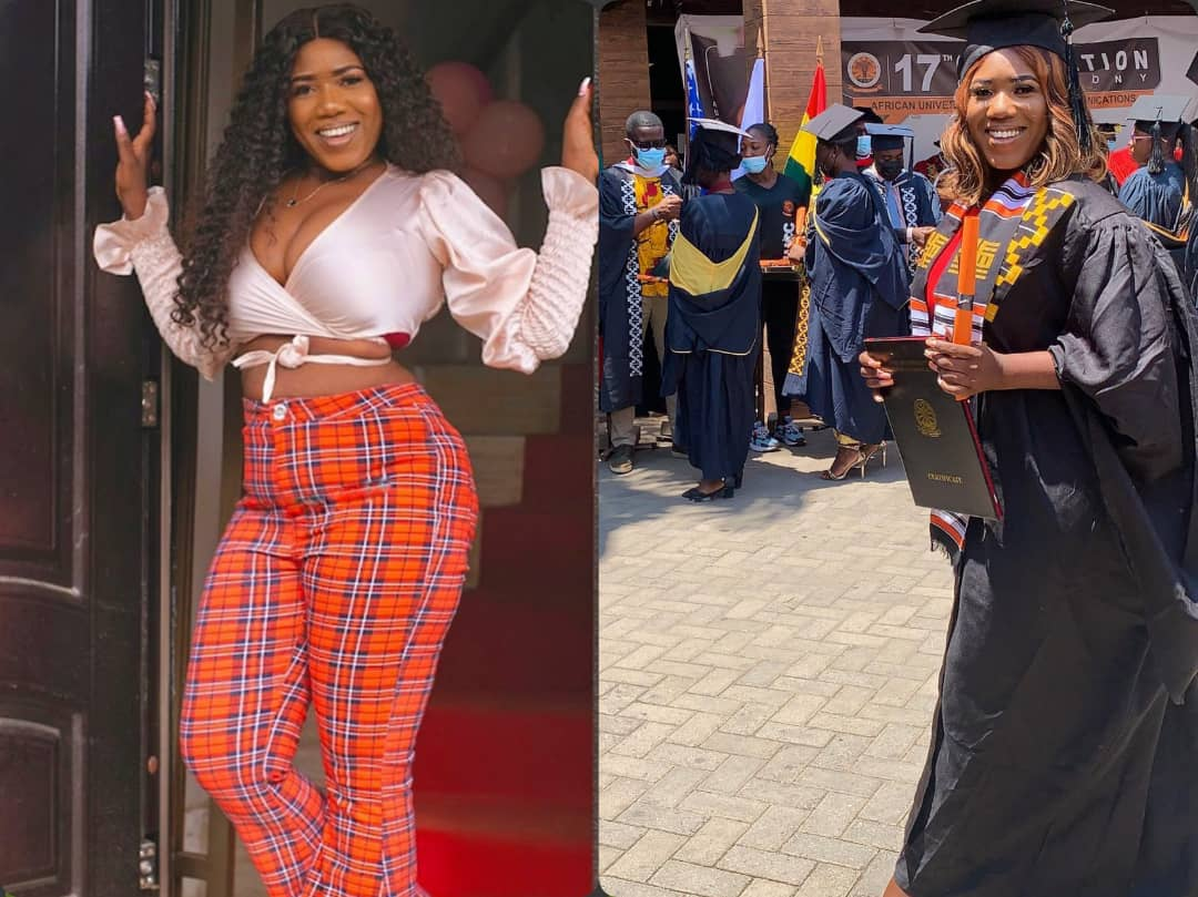 Victoria Lebene Graduates With A Bachelor Degree; Share Beautiful Photos