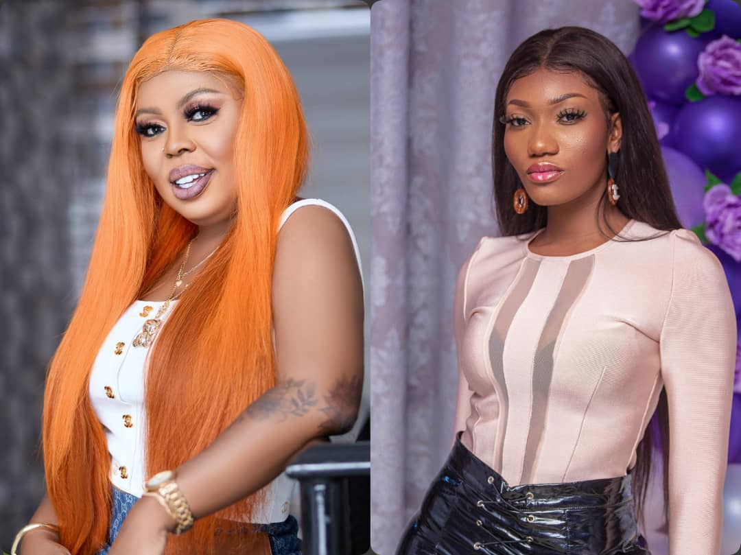 'Your Enemies Will Become Your Dancers If God Blesses You' - Wendy Shay Jabs Afia Schwarzenegger (Video)