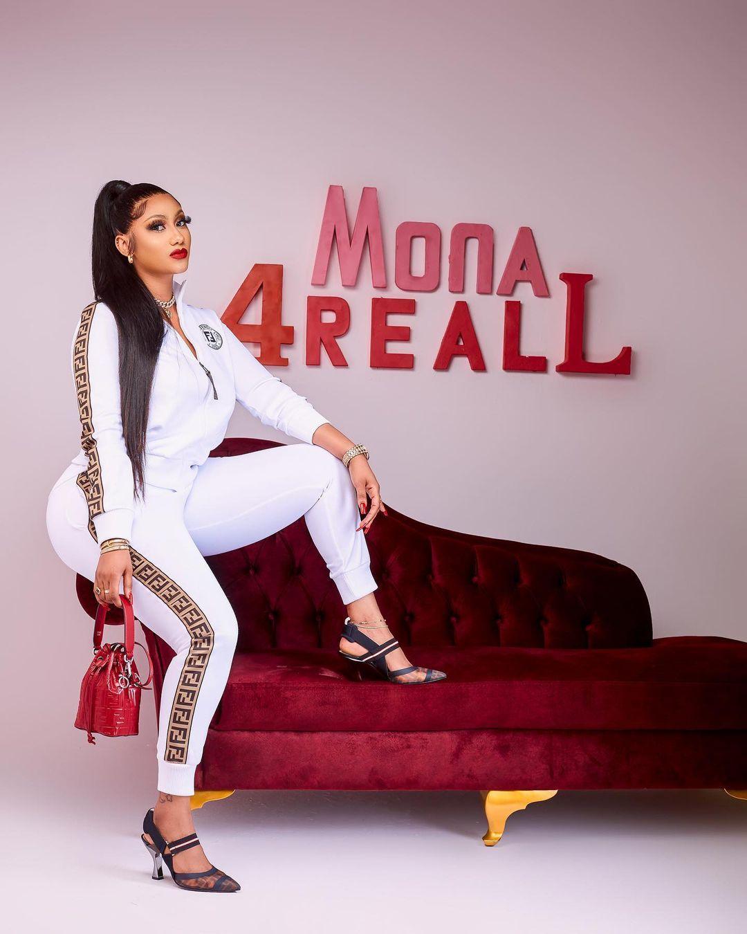 Mona 4Reall Showcases Her Salah Cow
