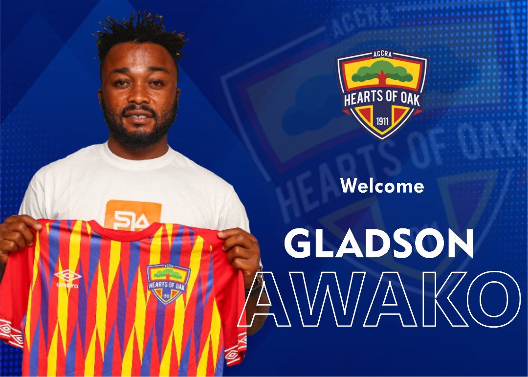 Awako May Not Play For Hearts of Oak, Says Agent