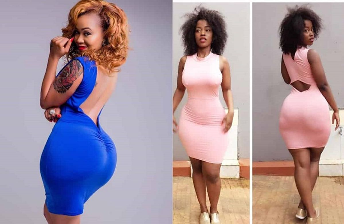 4 Types Of Behinds That Drive Ghanaian Men Crazy