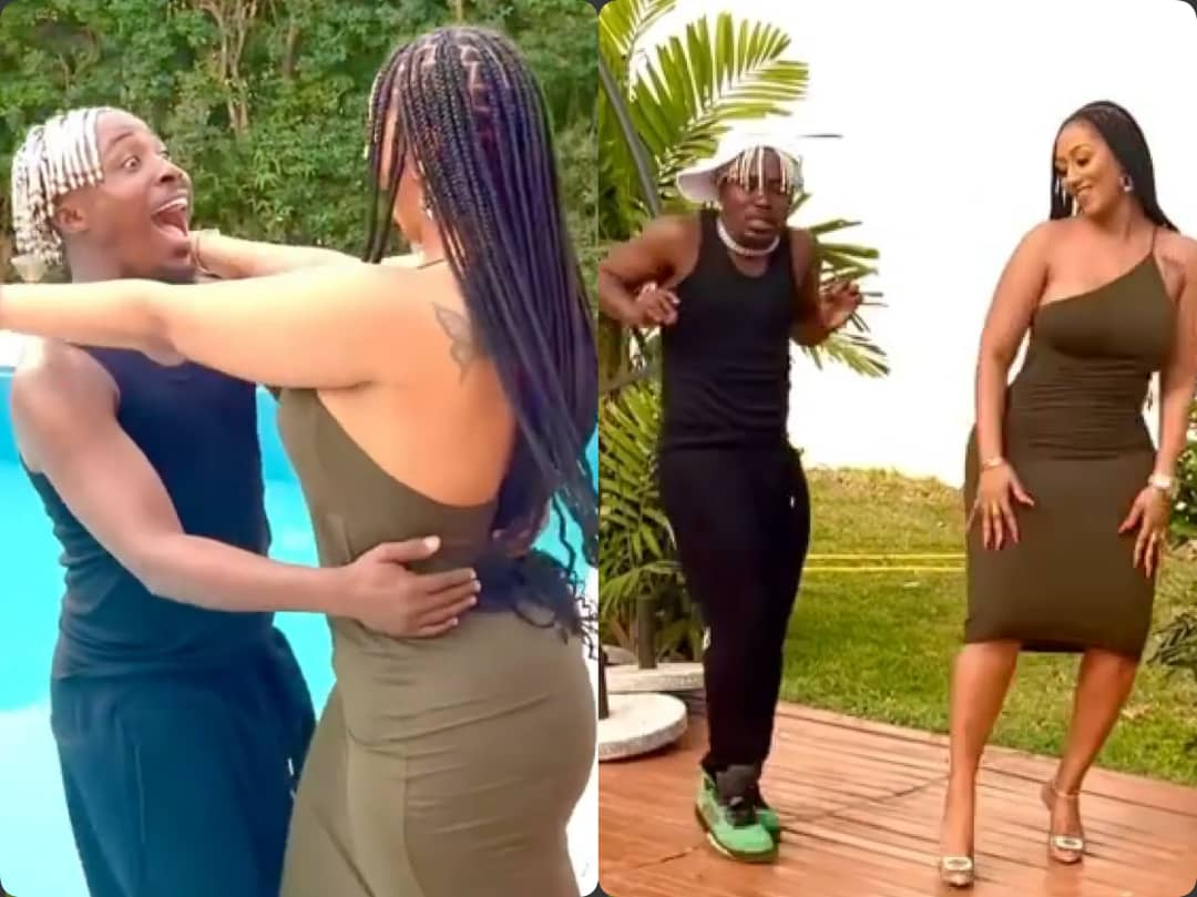 Hajia4Real Falls In Pool During Dance Challenge [Video]