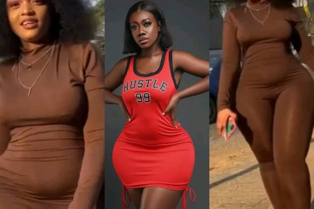 Hajia Bintu Finally Meets Her 'Meter': Watch Lady With The Most 'Endowed' Curves And Backside