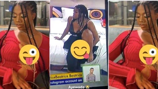 BBNaija Star Caught On Live TV F!ngering Herself (Video)
