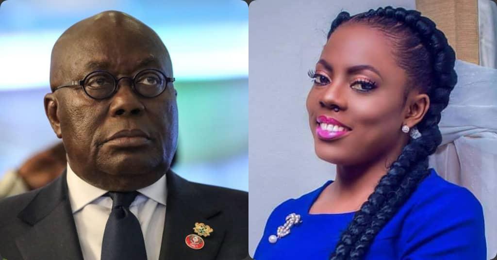 'Nana Akufo-Addo's Twitter Handlers Are Arrogant And Insensitive' - Nana Aba Anamoah Fires Akufo-Addo's Twitter Handlers