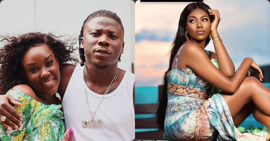Yvonne Nelson Gushes Over Stonebwoy And His Wife (Video)