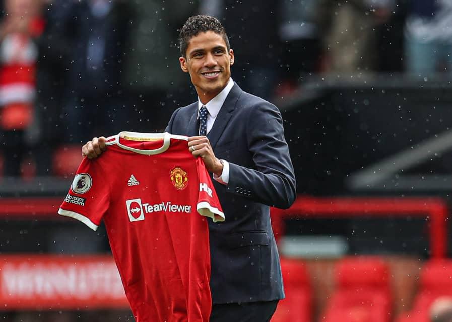 JUST IN: Man United Confirm Raphael Varane Signing (Video)