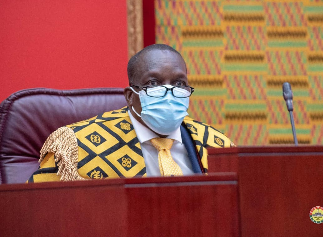 Parliament Breaks Silence On Alban Bagbin's Accident