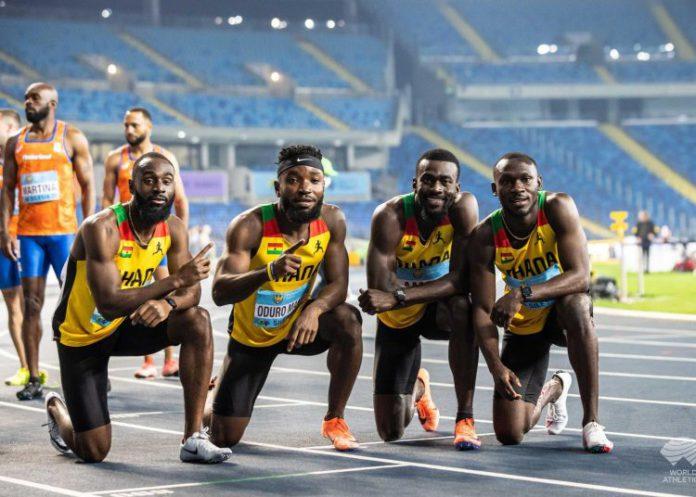 Tokyo 2020: Ghana's Relay Team Secures 4x100m Final Spot