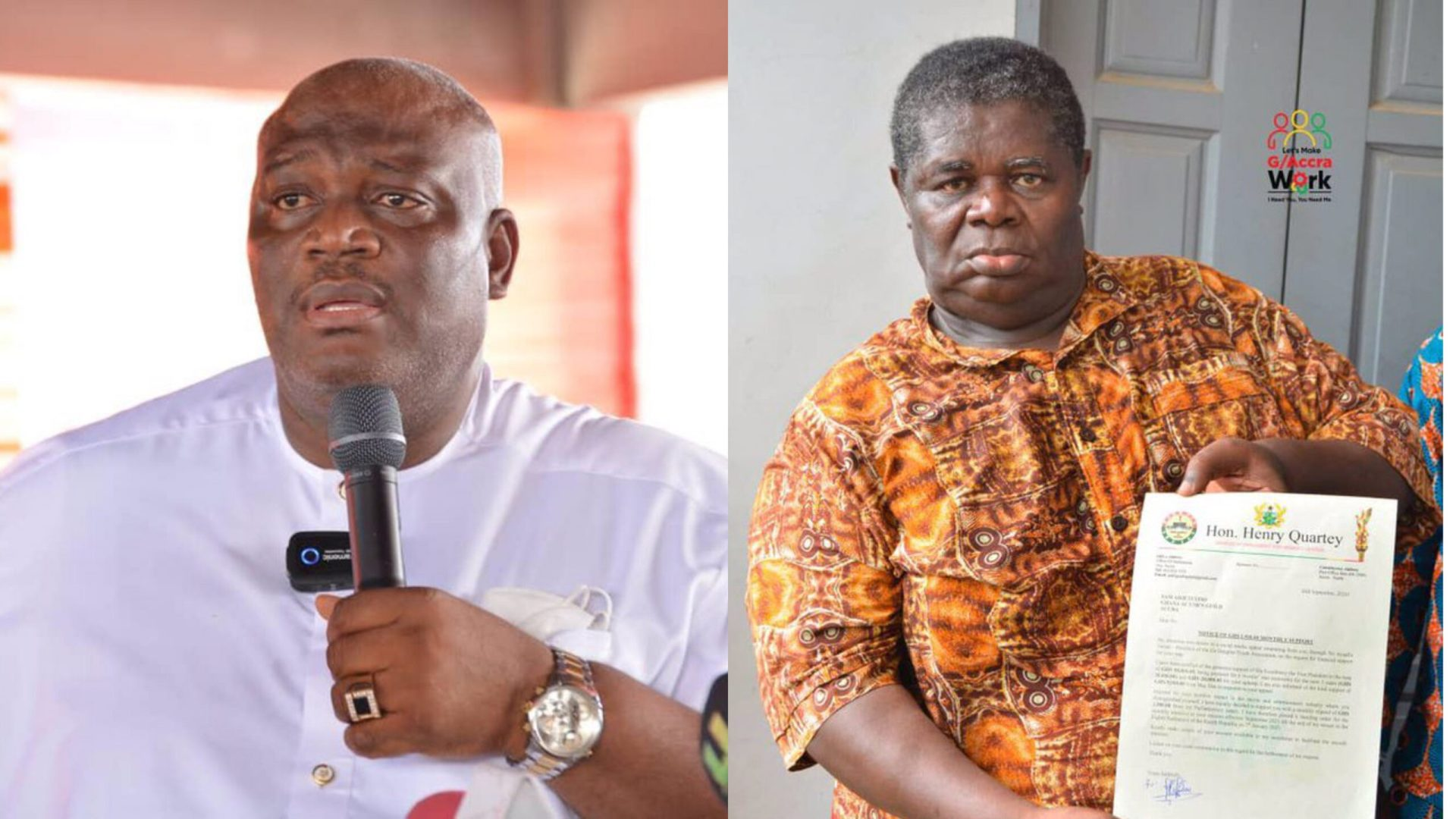 Henry Quartey Donates Part Of His Salary To TT
