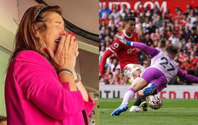 Cristiano Ronaldo's Mother Weeps