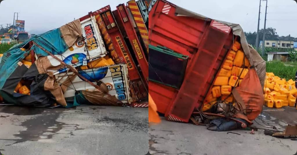 Accident On The Accra-Nsawam Highway, Police Alert Commuters To Travel With Caution
