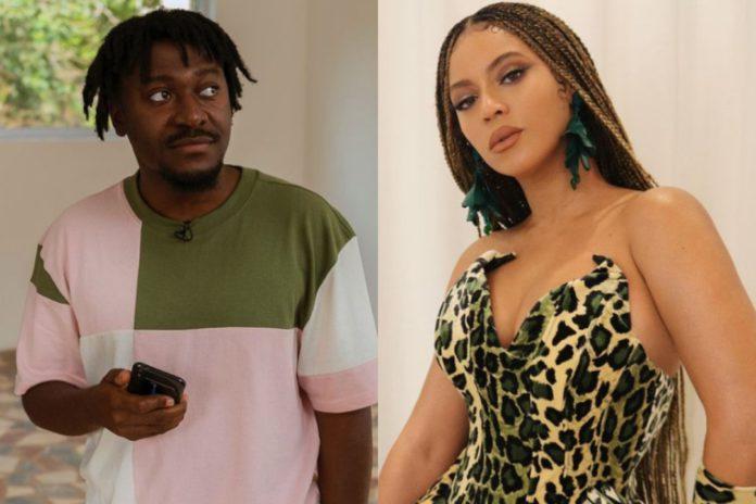 Beyoncé Surprises Ghanaian Producer, Guilty Beatz With Flowers [Photo]