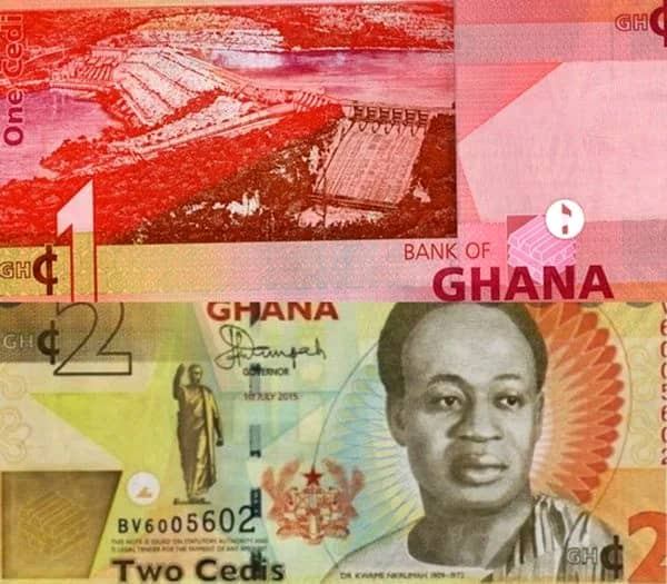 Ghanaians On Twitter Mock Ghana Police As BoG Set To Scrap GH¢1 And GH¢2 Notes; See Reactions