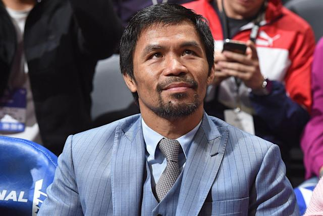 Manny Pacquiao To Quit Boxing And Run For Philippine Presidency In 2022