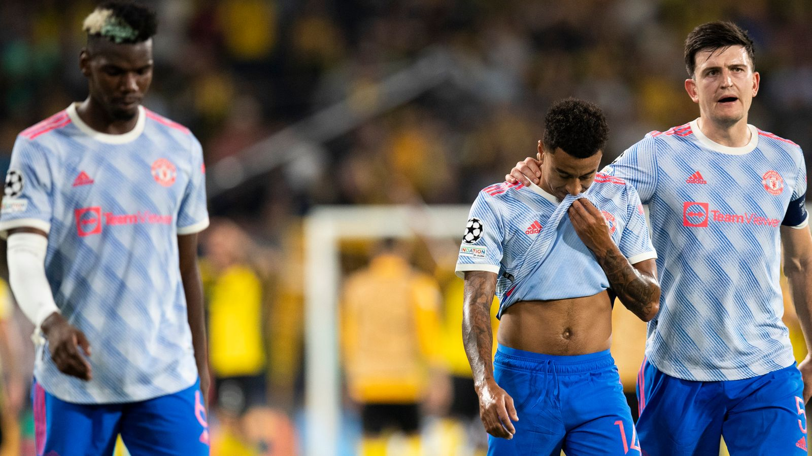 Young Boys Shock Man United In Champions League Opener; Ronaldo Scores Again