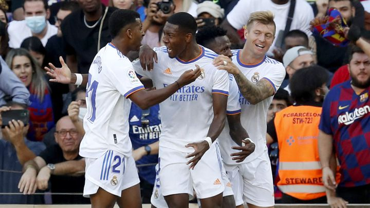 Real Madrid Win Fourth Consecutive El Clasico As Alaba Scores In Victory Against Barcelona