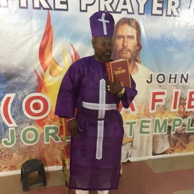 Ayitey Powers Turns Pastor After Failed Boxing Career; Photo Causes Stir As Fans React
