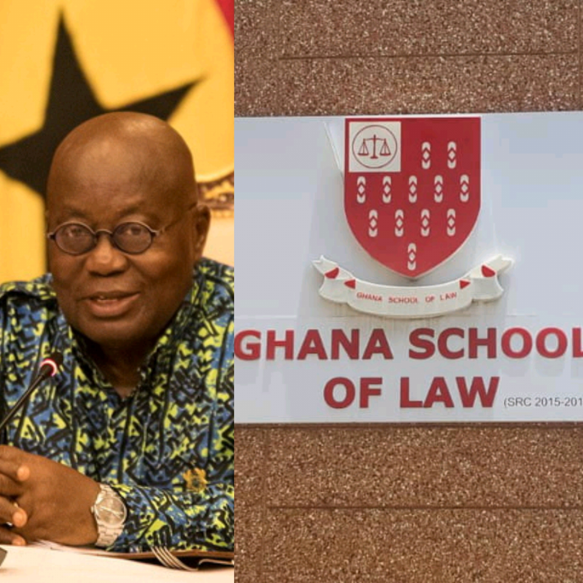'There Is No Space For Them' - Prez Akuffo-Addo To 499 Law Students
